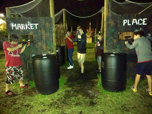 EXTREME OUTDOOR LASER TAG - Tropical Breeze Fun Park